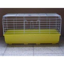 Klec pro hlodavce Levné klece klec pro králíka, morče 68x35x35 cm
