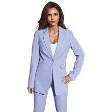 Kalhotový kostým (2dílná) světle modrý