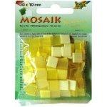 Folia Mozaika plastová 10x10 mm Žlutá