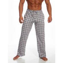 698c47ac919b Cornette pánské pyžamové kalhoty šedočervené