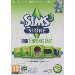 The Sims 3 SimPoints card 1000