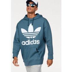 Adidas Originals Mikina s kapucí TREF OVER HOOD kouřová modrá od 1 ... 04aeb454168