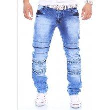 KC-1981 kalhoty pánské 3112 jeans prošívané džíny