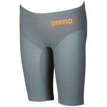 be69c94f99d Arena Powerskin REvo One Jammer Junior Grey Bright Orange 24