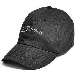 GUESS kšiltovka Rhinestone Logo Baseball Cap černá alternativy ... 1fe04355ba