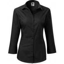 Adler Dámská košile s tříčtvrtečním rukávem Style - Černá