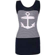LM moda Letní tunika námořnické kotva