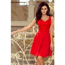 cd47b5011ef1 Numoco dámské šaty Bella krajkové červená