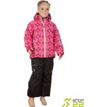 Dívčí zimní lyžařský set KILPI HILMA SKI SET-JG RŮŽOVÁ