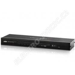 Datový přepínač Aten VS-1804T HDMI rozbočovač 4-port, po Cat 5e kabel RS-232