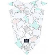 La Millou Multifunkční bavlněný šátek I Love Panda pure by Marta Zmuda  Trzebiatowska b023d65c20