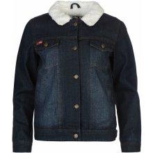 Lee Cooper Lined Denim Jacket dámské Mid modrá