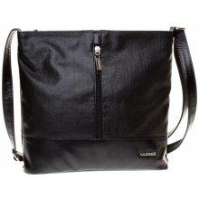 Dawidex Crossbody kabelka LD070-2 černá lesklá