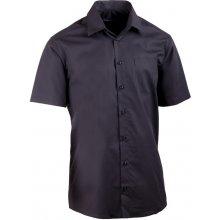 Assante košile černá rovná 40116