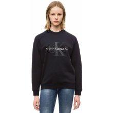 993ff1c5eb Calvin Klein dámská černá mikina Satin 99
