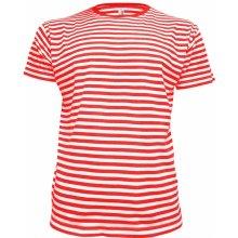 Alex Fox dětské námořnické tričko Dirk červené ohnivá