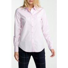 Gant dámská Košile GANT STRETCH BROADCLOTH SOLID růžová