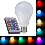 Light LED žárovka CW2706 E27 6W RGB + čistá bílá
