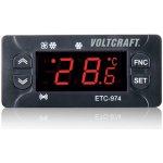 Voltcraft Termostat ETC-974, typ senzoru NTC, PTC, -50 až 140 °C