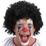 Paruka klaun černá