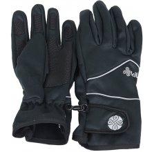 Kilpi Wilho pánské zimní rukavice černá