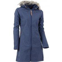 Alpine Pro dámský softshellový kabát PRISCILLA INS.modrý