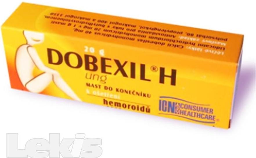 Dobexil H UNG rct.ung. 1 x 20 g od 67 Kč - Heureka.cz f04ceeb4db