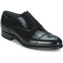 Barker Šněrovací společenská obuv WINSFORD Černá
