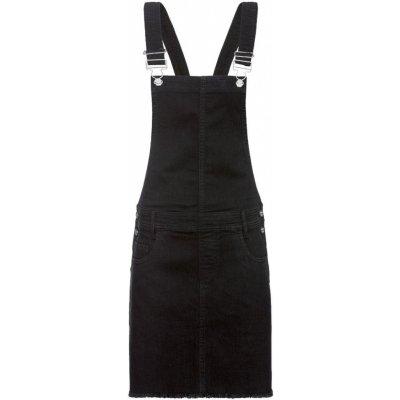 Esmara dámské džínové kraťasy s laclem / džínová sukně s laclem
