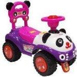 Alexis odrážedlo autíčko Panda růžová