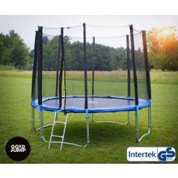 GoodJump Trampolína 400 cm + ochranná síť + žebřík