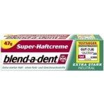 Blend-a-dent Extra Stark neutral fixační krém na zuby 40 ml
