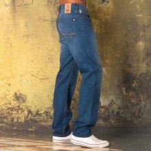 Luke 1977 Mens Eddies Jovi Straight Leg Jeans Denim