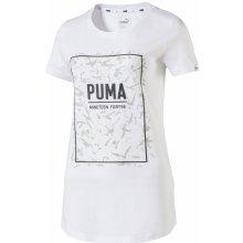 f8f02c932e8 Puma FUSION Graphic Tee White 850107-02 Bílá