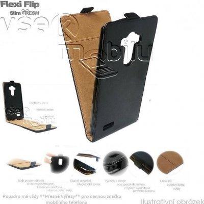 Pouzdro ForCell Slim Flip Flexi Fresh Samsung G530 Galaxy Grand Prime černé