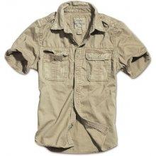 Raw Vintage pánská košile s dlouhým rukávem Béžová