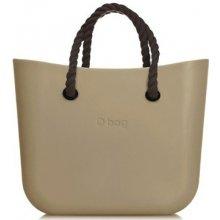 O bag kabelka MINI Sabbia s černými krátkými provazy 0c9191da3b4
