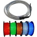 Světelný LED kabel zelený, průměr 13mm
