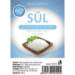 AWA cosmetics sůl z mrtvého moře koupelová 1000 g