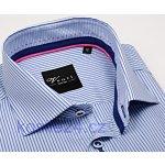 Venti Body Fit Luxusní košile s modrým proužkem a vnitřním límcem f85134ea71