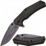 Tac-Force Linerlock Green/black Handle