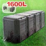 KAXL Plastový 1600l, černý MODULE Compogreen IKSM1600C