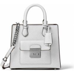 912d19c2f3db Michael Kors Bridgette Small Saffiano Leather Messenger bag Optic white