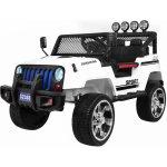 Ramiz Jeep Raptor 4x4 kožená sedačka 2 místné bílé