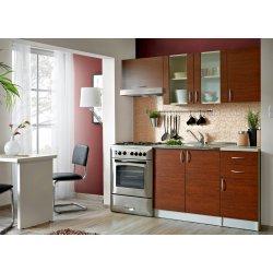 Kuchyně Smartshop Kuchyně JOLANA 120/180 cm, dub paris
