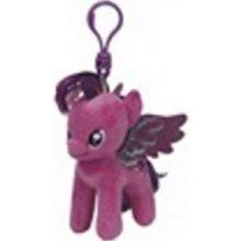 Přívěsek na klíče Plyš očka My little pony Lic TWILIGHT SPARKLE