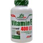 Amix GreenDay Vitamin E 400 I.U. Life+ 200 kapslí