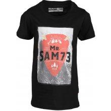 SAM 73 chlapecké triko KTSL126 990SM černá