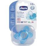Chicco šidítko s pouzdrem silikon 1 ks modrá