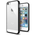 Pouzdro Spigen ultra-tenké Apple iPhone SE   5S   5 - čiré s černém f259d98210f